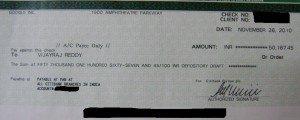 Вот такие чеки каждый месяц получают западные веб-мастера