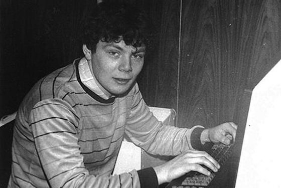 Михаил Фридман в молодости