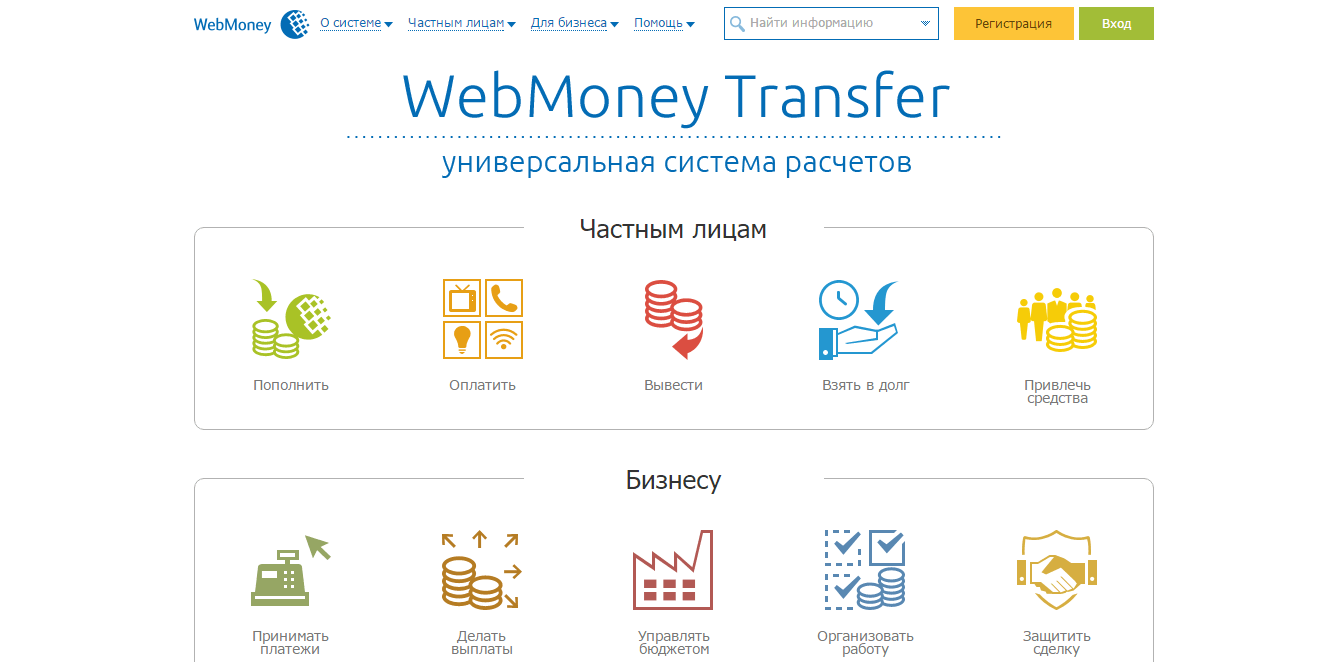 Website WebMoney