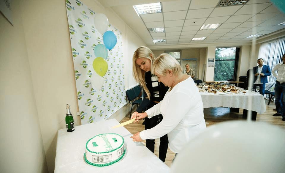 Торжественное открытие офиса Edelweiss5 в Черновцах, Украина