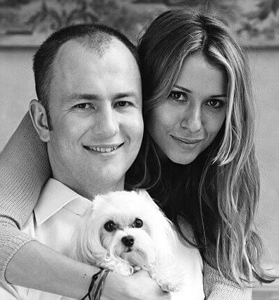 Андрей Мельниченко с женой Александрой