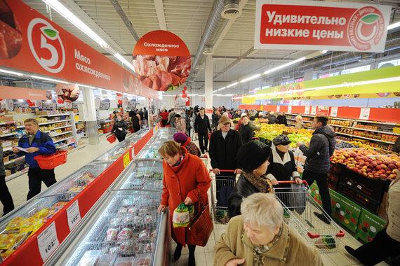 Пятерочка – крупнейшая российская сеть продуктовых магазинов