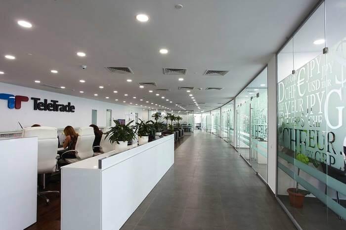 Один из офисов TeleTrade