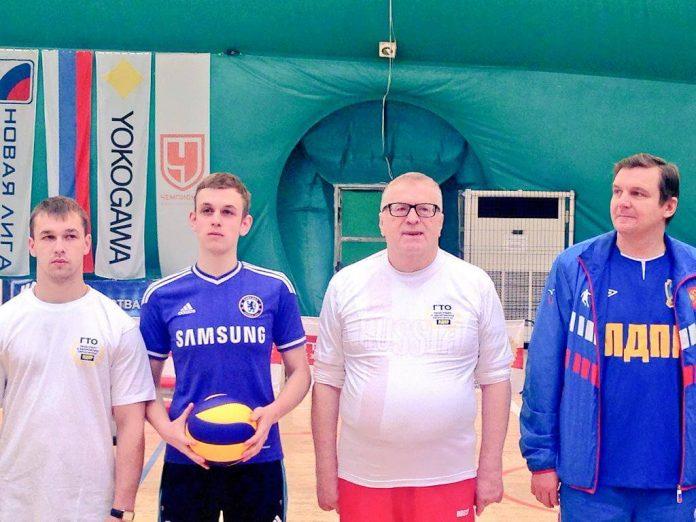Волейбол - любимая игра Владимира Жириновского