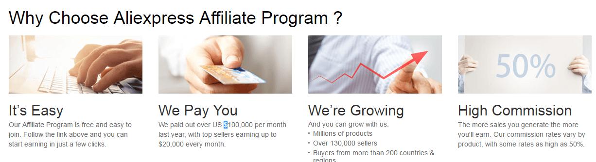 как заработать на Aliexpress партнерская программа