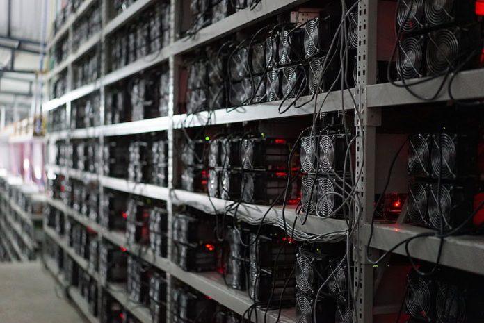 Майнинг криптовалюты в промышленных масштабах