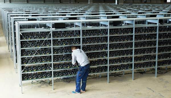 Ферма для майнинга криптовалют