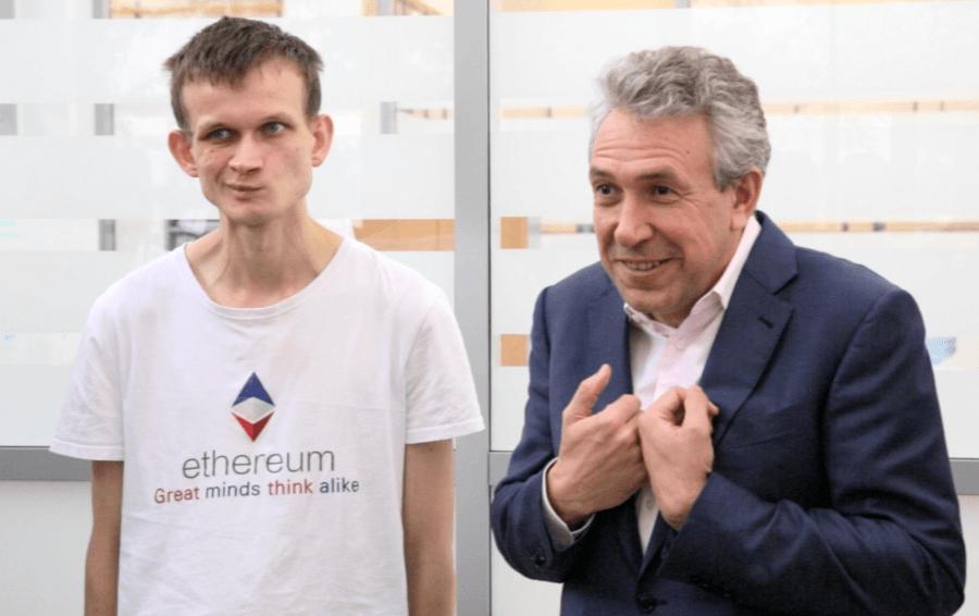 Петр Авен и Виталик Бутерин