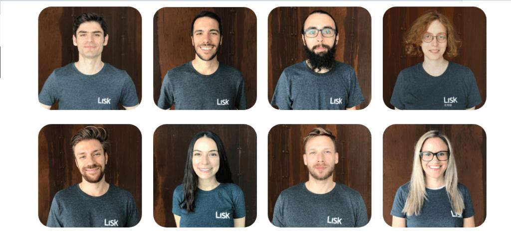 Команда Lisk