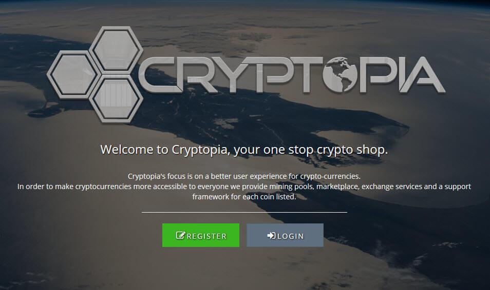 Биржа криптовалют Cryptopia