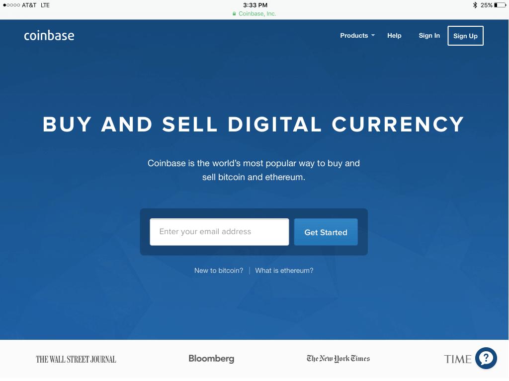 Coinbase - крупнейшая криптовалютная биржа США