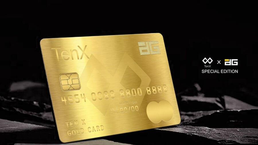 Карта TenX Pay для DG