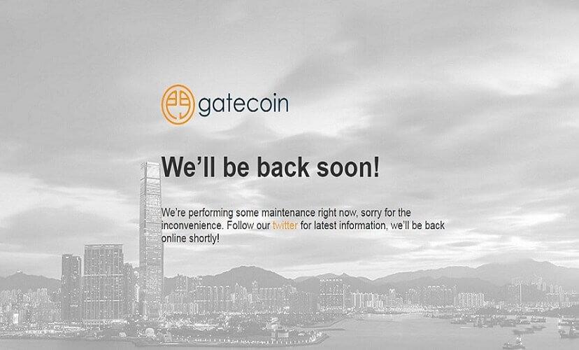 Сообщение на официальном сайте после атаки