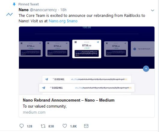 Twitter оценил новый дизайн RaiBlocks