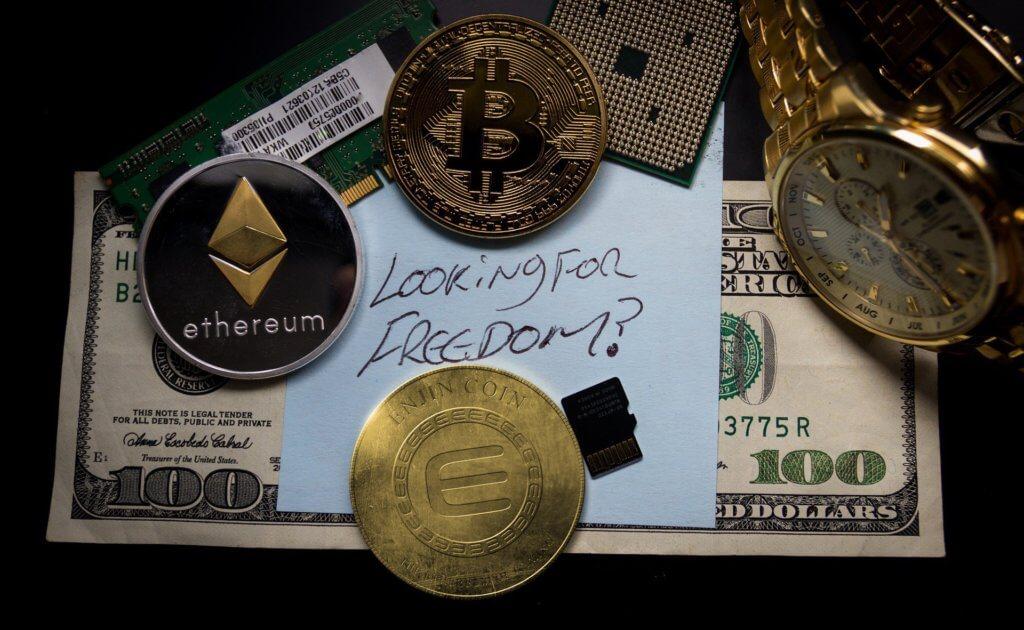 Криптовалюта изобреталась как альтернатива деньгам