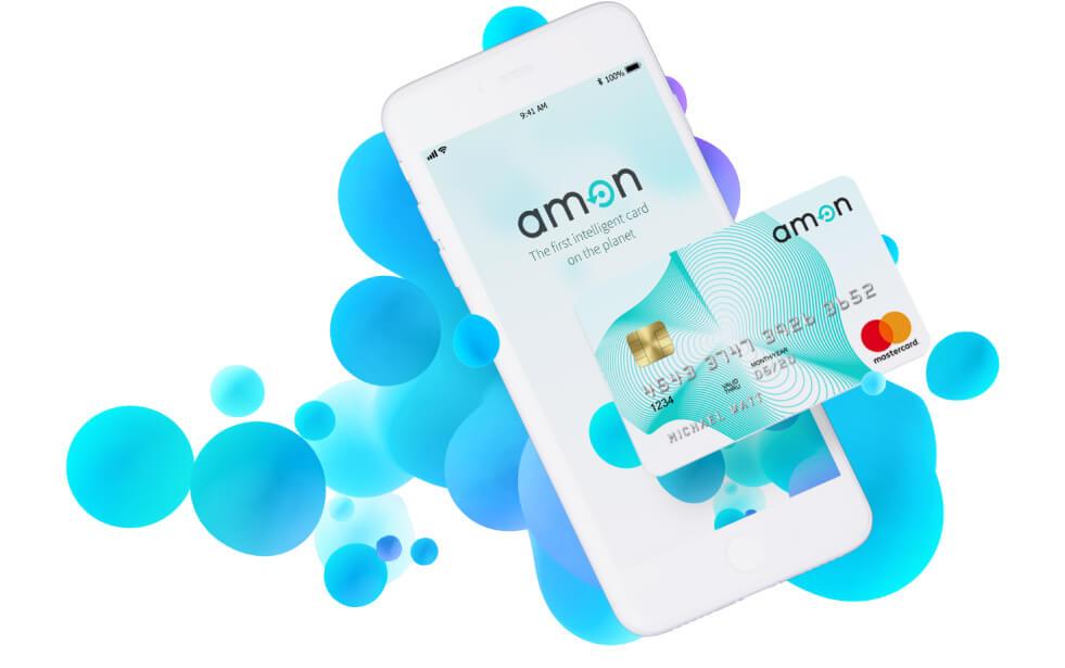 Криптовалютная карта Amon на основе ИИ выходит на ICO