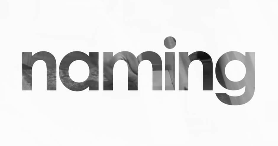 Начнём с самого простого: нейминг