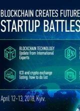 Блокчейн создает будущее. Битва стартапов