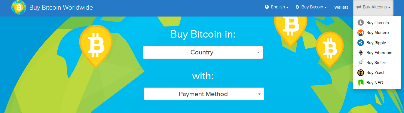 Buybitcoinworldwide: где и как купить криптовалюту по всему миру