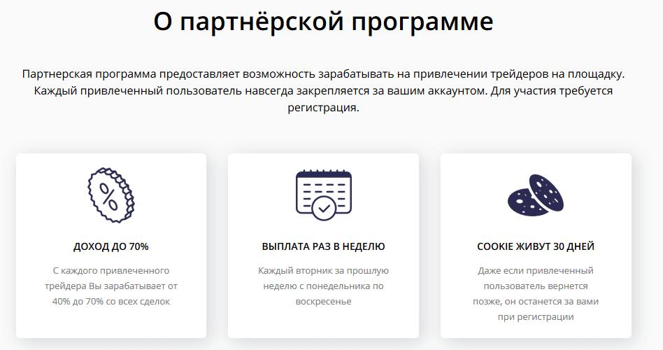 Основные положения партнёрки на BitFlip