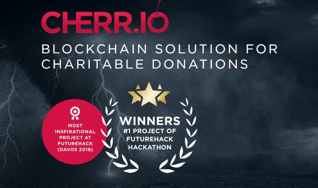 CHERR.IO — блокчейн решение для благотворительных пожертвований