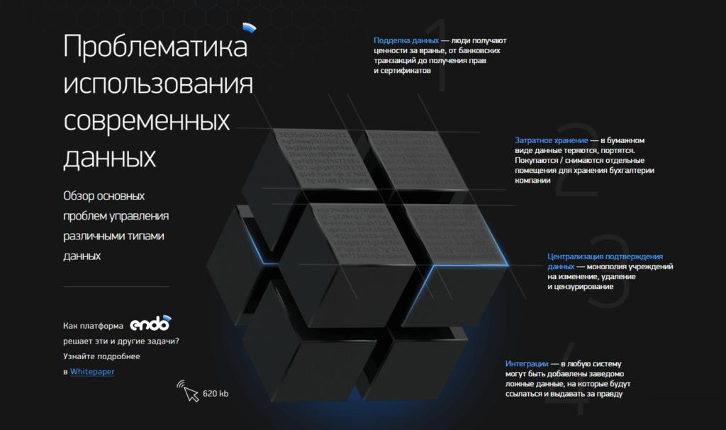Endo Protocol — верификация и отслеживание иформации на блокчейн