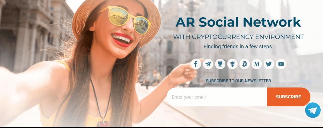 Selfie GO — соцсеть дополненной реальности с криптовалютной средой