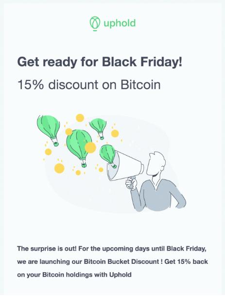 Black Friday на бирже Uphold: раздача Bitcoin была устроена хакерами