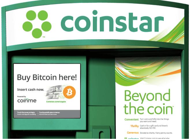 Жители США смогут покупать BTC в киосках Coinstar