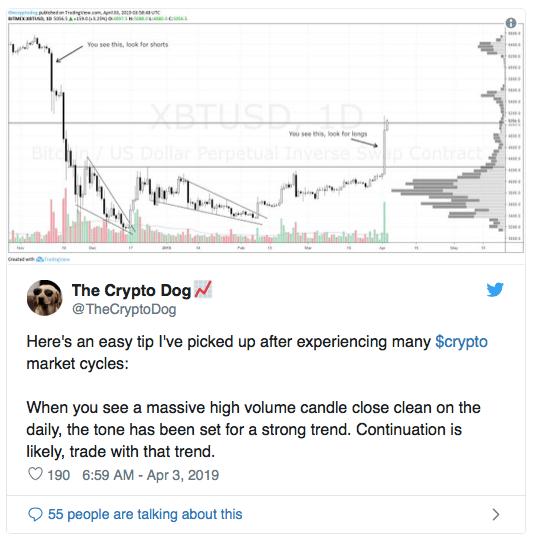 Действительно ли Bitcoin-кит инициировал ралли?