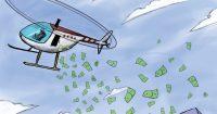 вертолетные деньги во время экономического кризиса