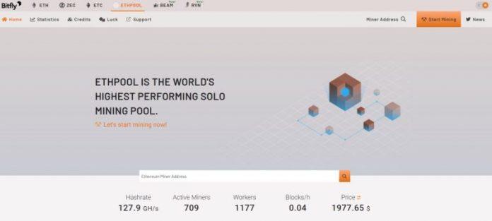 Ethpool: первый пул для добычи Ethereum