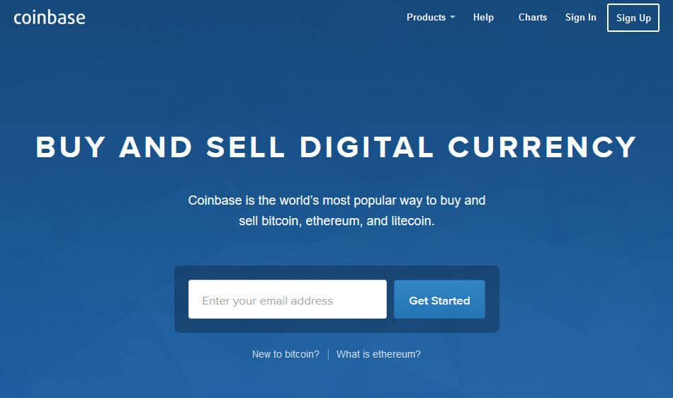 Биржа криптовалют Coinbase