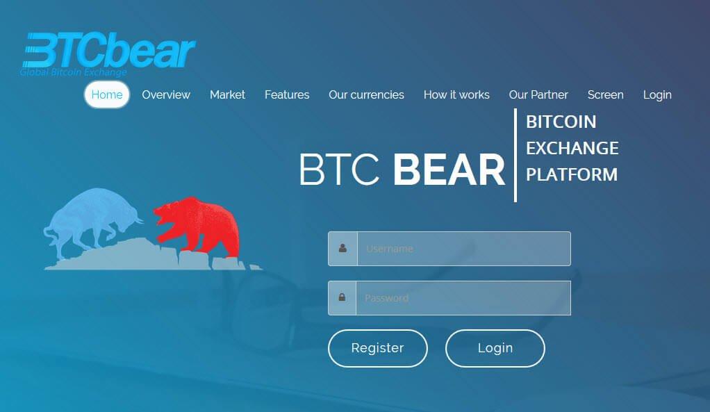 Биржа криптовалют BTCBear