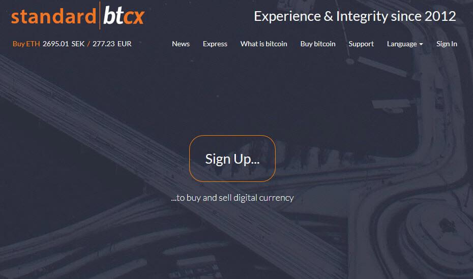 Биржа криптовалют BTCX