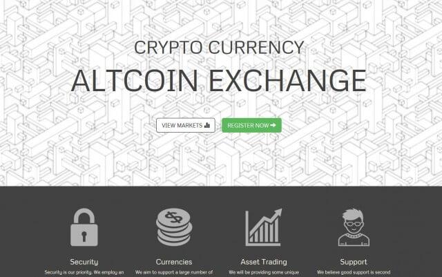 Биржа криптовалют Coinexchange